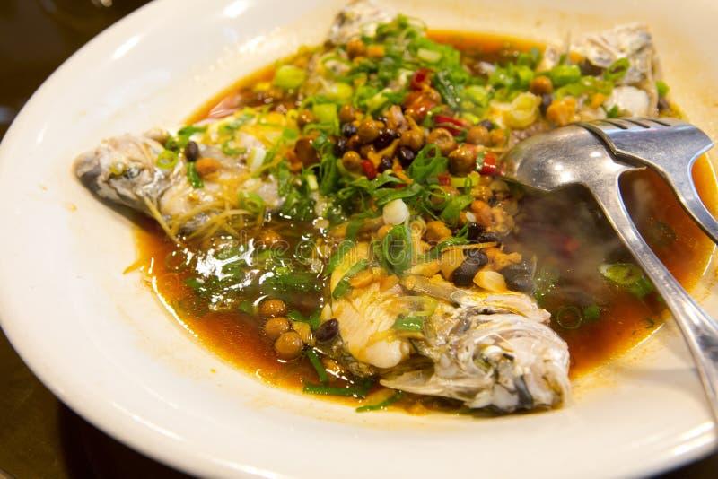 Taipeh, Taiwan, zeevruchtenrestaurants, restaurants, stealing overzeese vissen, verse en gedetailleerde smaak stock afbeelding