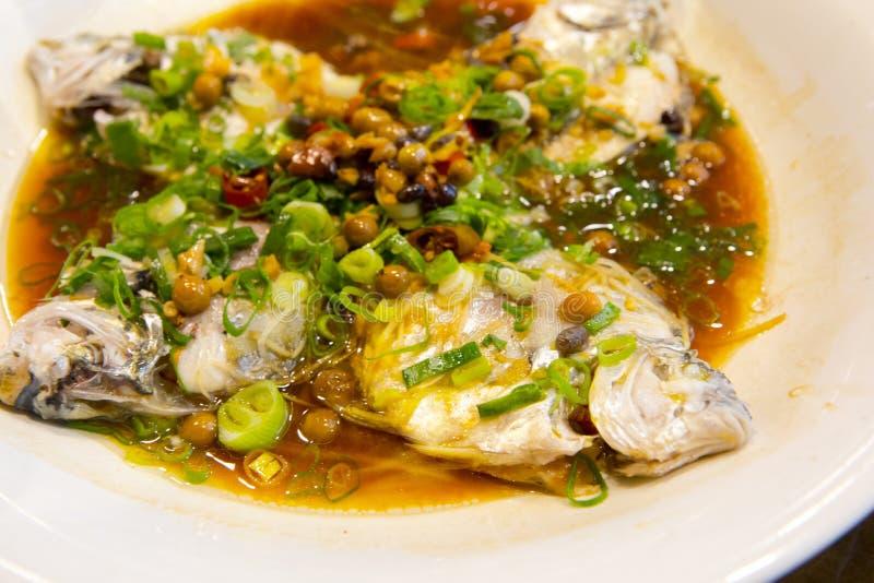 Taipeh, Taiwan, zeevruchtenrestaurants, restaurants, stealing overzeese vissen, verse en gedetailleerde smaak royalty-vrije stock afbeeldingen