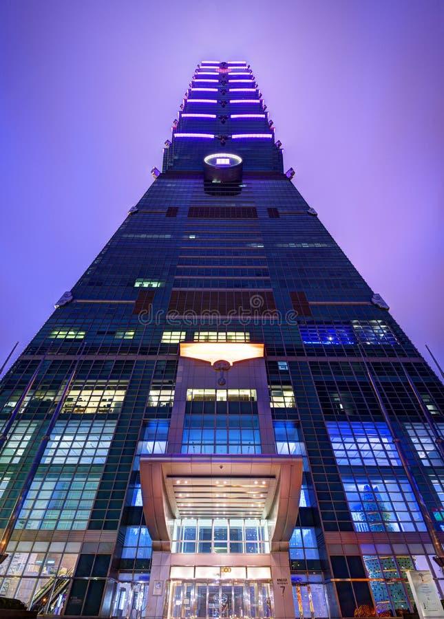 Taipei 101 zdjęcia royalty free