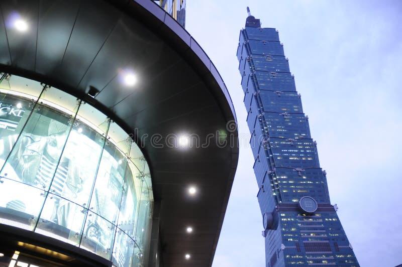 Taipei 101 fotografia de stock