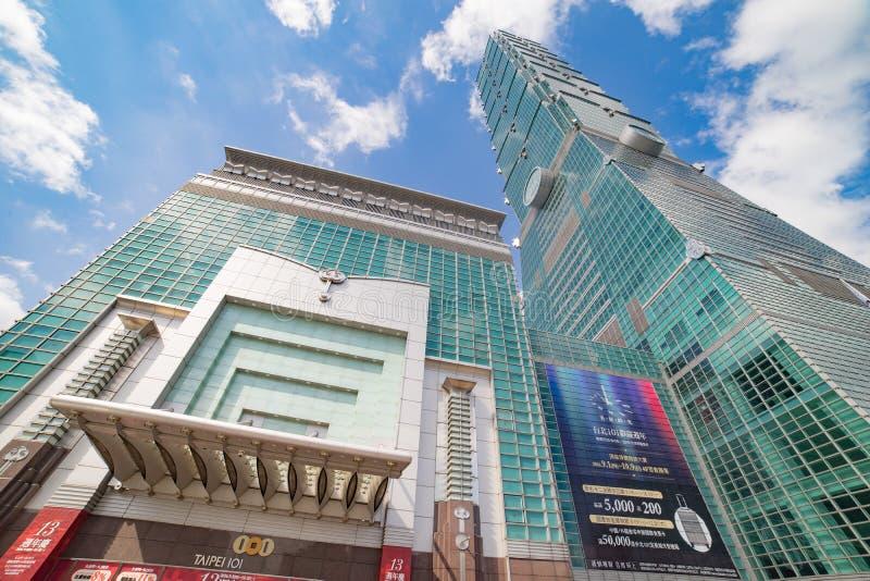 Taipei101 royalty-vrije stock afbeelding