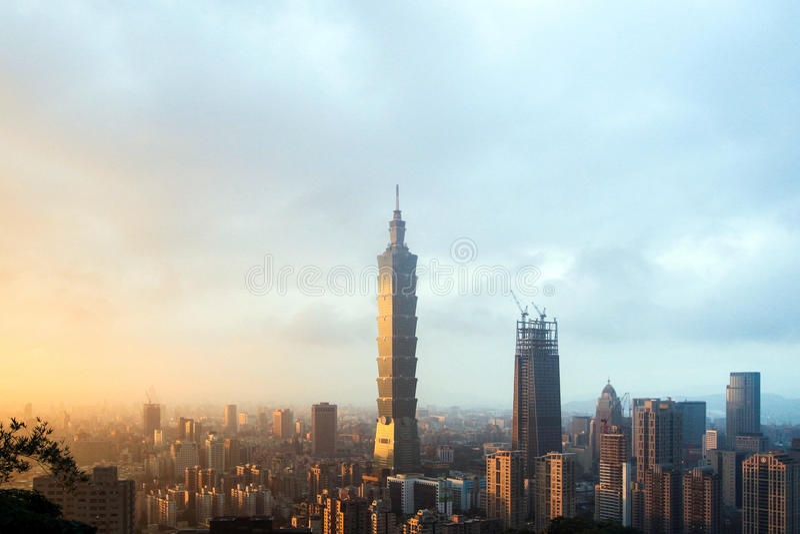 Taipei101 imagem de stock royalty free