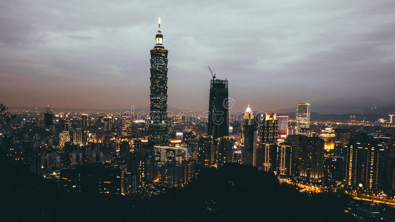 101 Taipei obraz royalty free