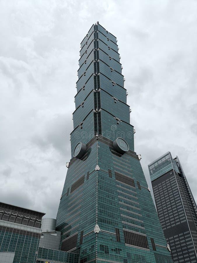 Taipei 101 av Maj 2019 royaltyfria foton