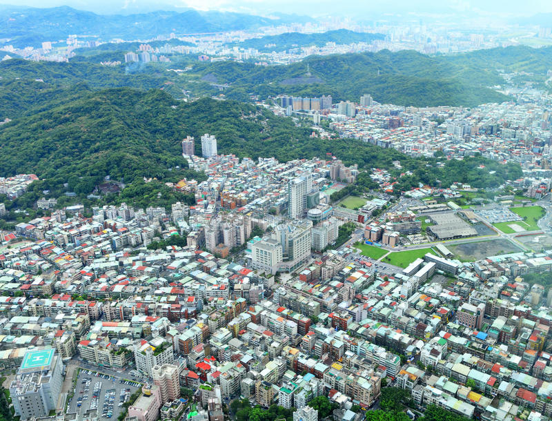 Taipei city royalty free stock images