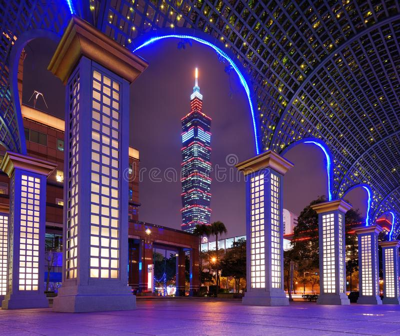 Download Taipei Cityscape stock image. Image of lights, taiwanese - 28824459