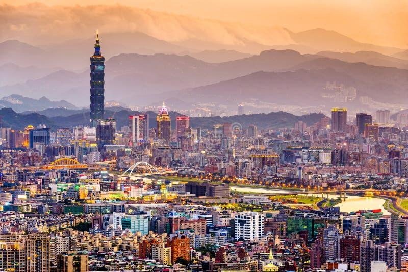 Taipei, Formosa fotografia de stock royalty free