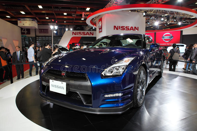 TAIPEI   Jan 3: NISSAN GTR R35 Shown At Taipei International Auto Show Jan  3, 2016 In Taipei, Taiwan.