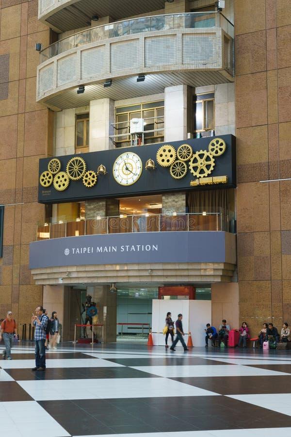 Taipei Main Station stock photos