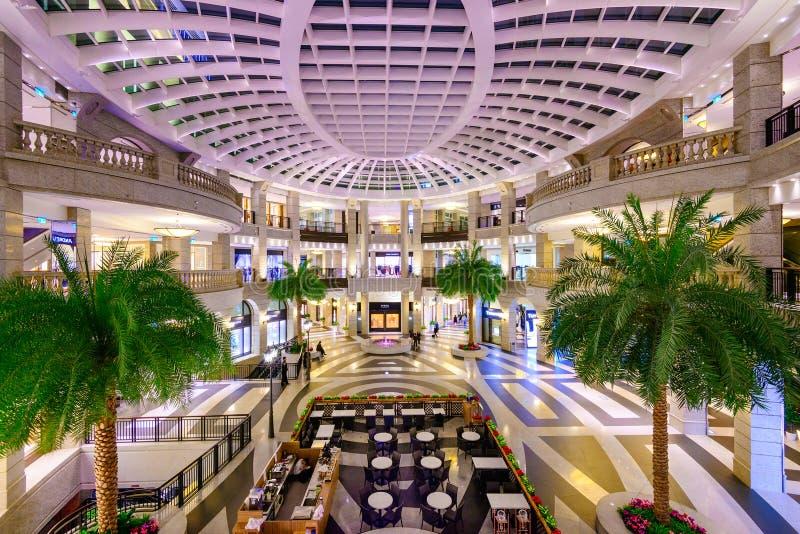 Taipei Mall stock photo