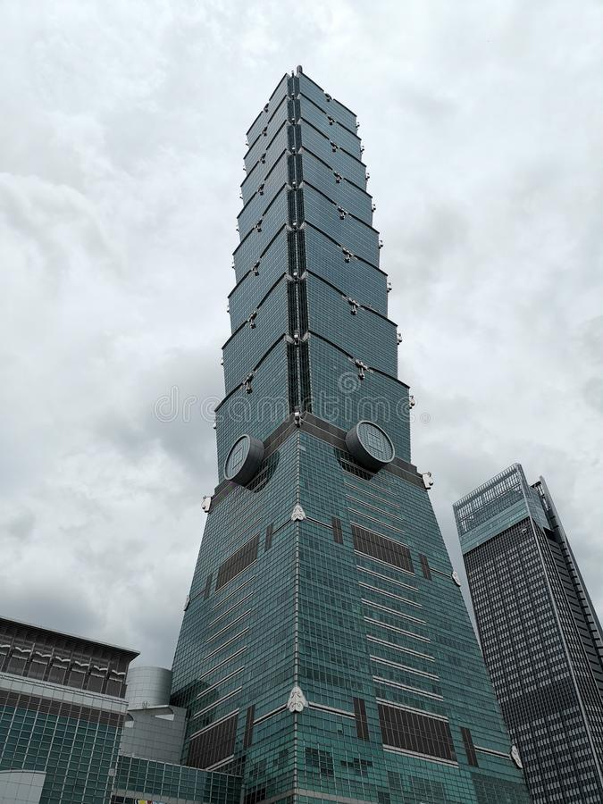 Taipei 101 of May 2019 royalty free stock photos