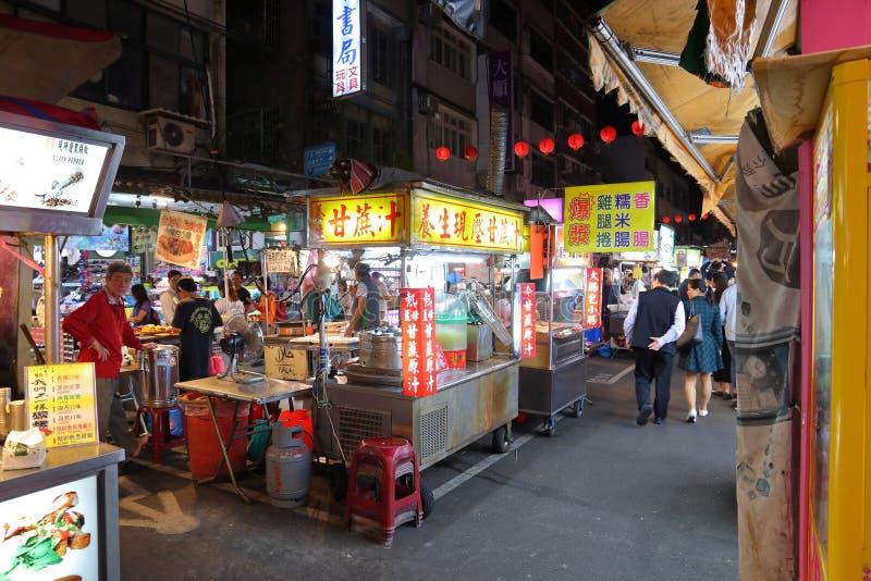 Taipei Night Market stock image