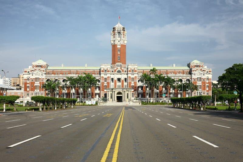 Taipei presidents- byggnad inget fotografering för bildbyråer