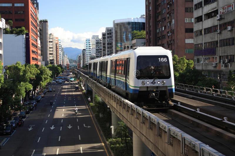 Download Taipei Rapid Transit System Stock Image - Image: 15633945