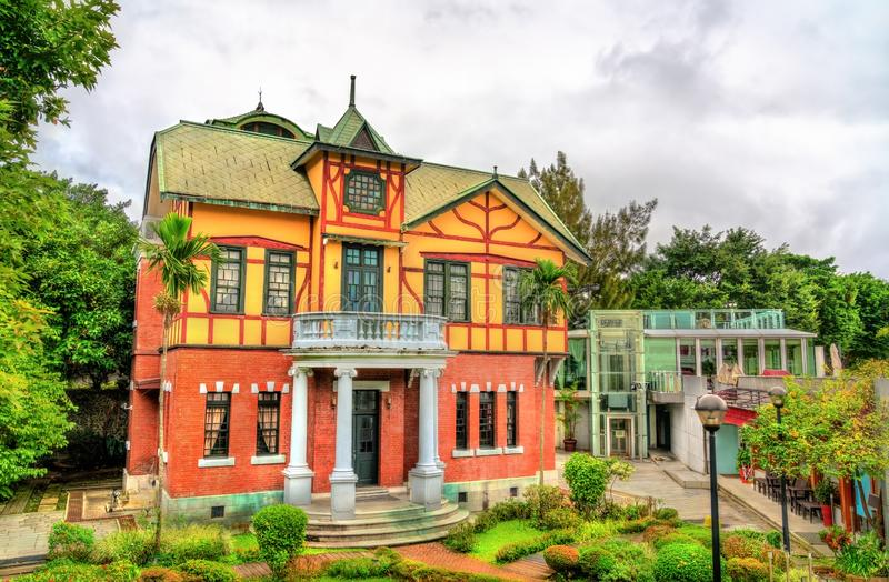 Taipei Story House, a historic building in the Zhongshan District of Taipei, Taiwan stock image