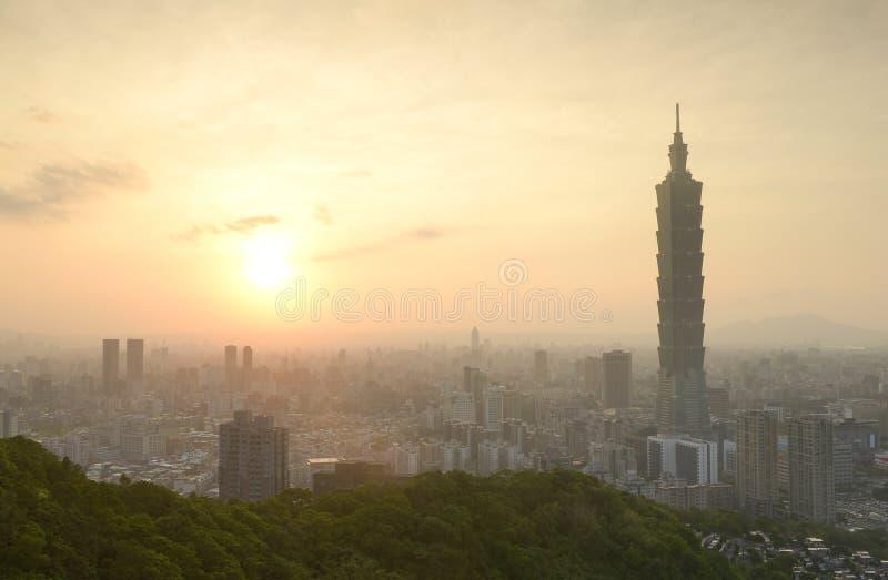 Download Taipei sunset time stock photo. Image of amazing, beautiful - 33509036