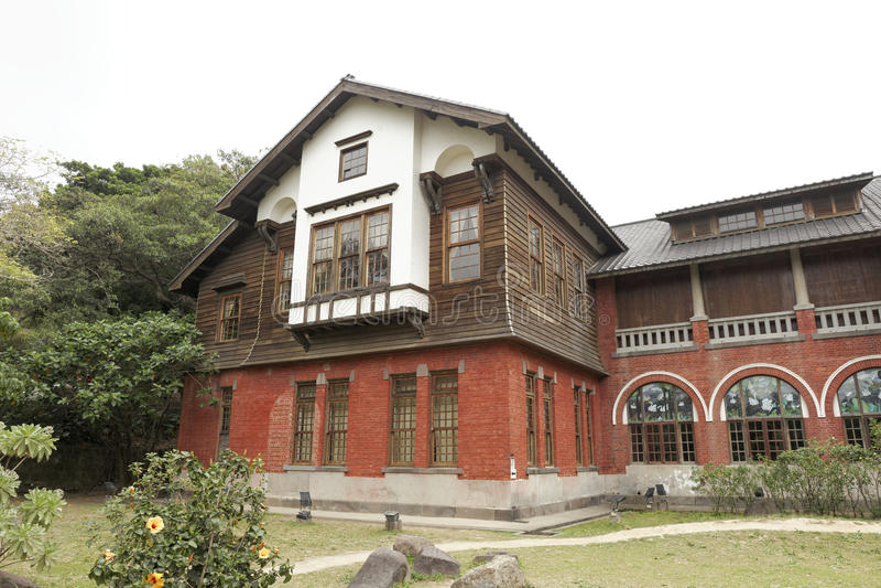 Taipei, Taiwán, 22do, febrero de 2015, museo de las aguas termales de Beitou imagenes de archivo