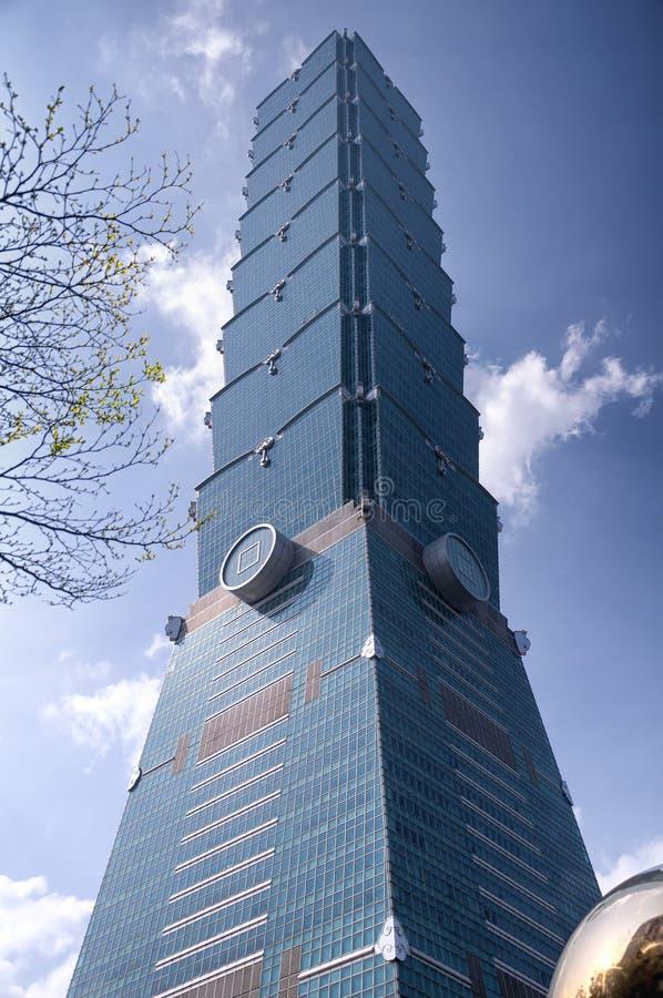 Taipei 101 Taiwán soleado imagenes de archivo