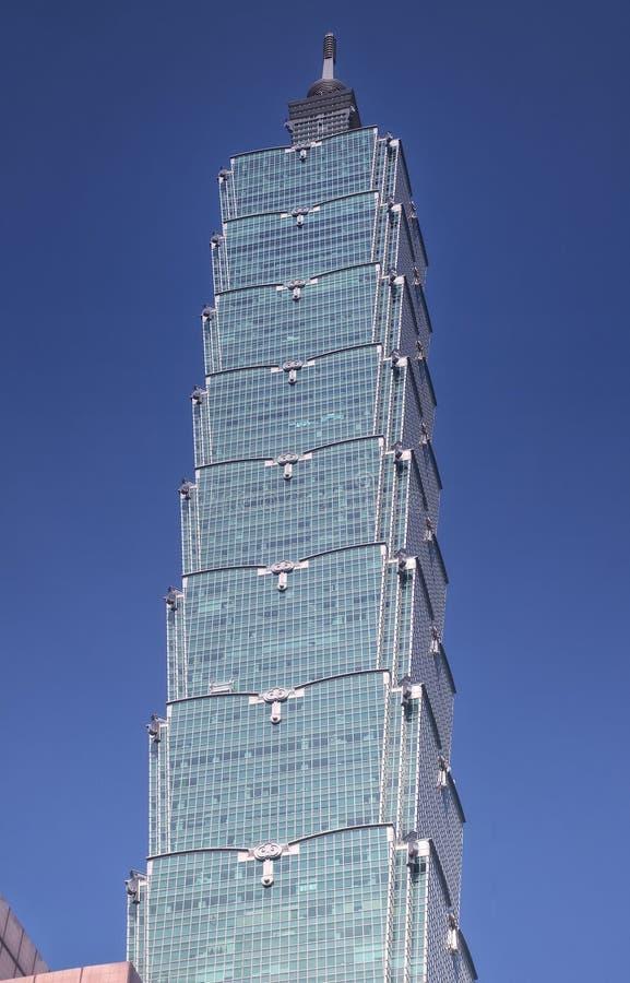 Taipei 101 Taiwán soleado fotos de archivo