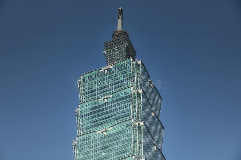 Taipei 101 Taiwán soleado imágenes de archivo libres de regalías