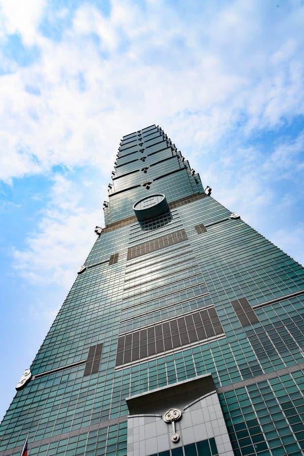 101 taipei taiwan Финансовый центр Тайбэя стоковые изображения rf