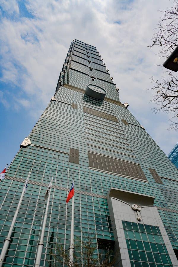 101 taipei taiwan Финансовый центр Тайбэя стоковая фотография