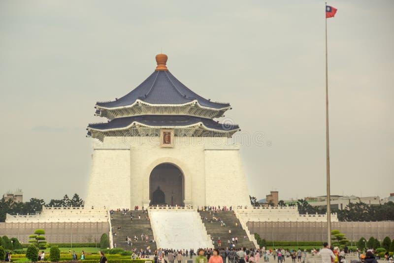 Taipei/Taiwan-25 05 2018: El cuadrado de la libertad en Taipei foto de archivo