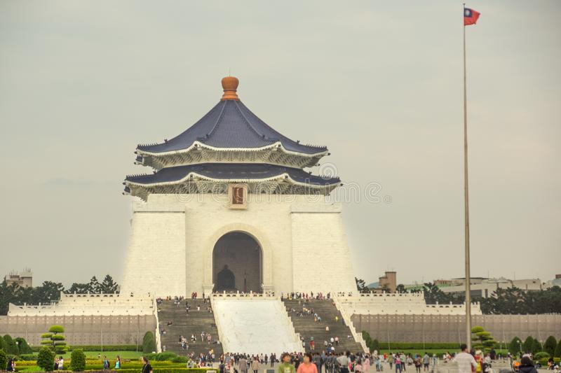 Taipei/Taiwan-25.05.2018:The freedom square in Taipei stock photo