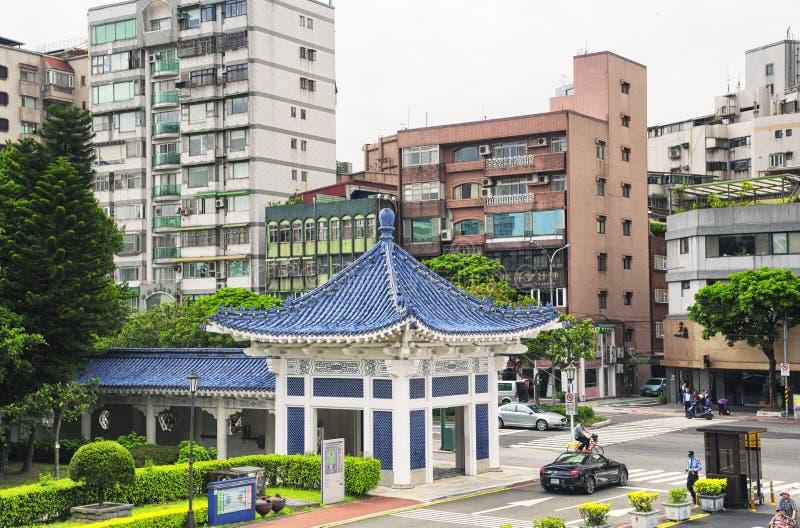 Taipei Taiwan hyreshusar fotografering för bildbyråer