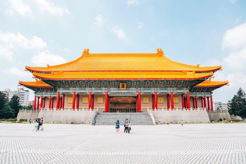 National Theater at Chiang Kai-shek Memorial Hall in Taipei, Taiwan royalty free stock photos