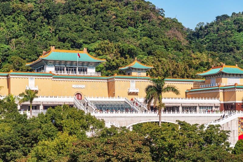 Taipei, Tajwan przy Krajowego pałac muzeum bramą fotografia royalty free