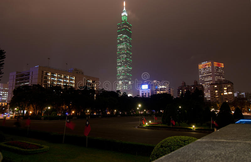 Download Taipei World Financial Center Stock Image - Image: 22882453