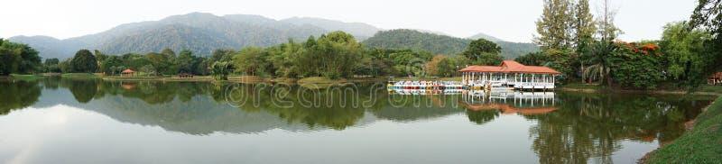 Taiping Laketrädgård, Malaysia royaltyfri bild