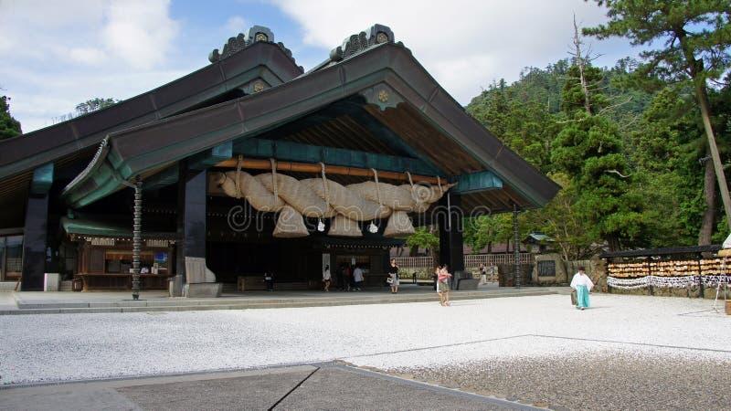 Taisha Kaguraden di Izumo immagine stock