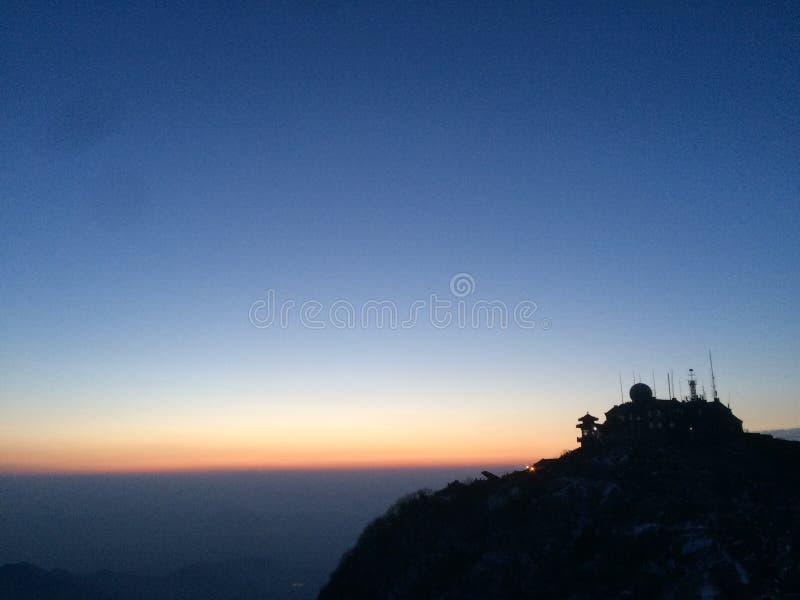 Taishan Montain στοκ εικόνες