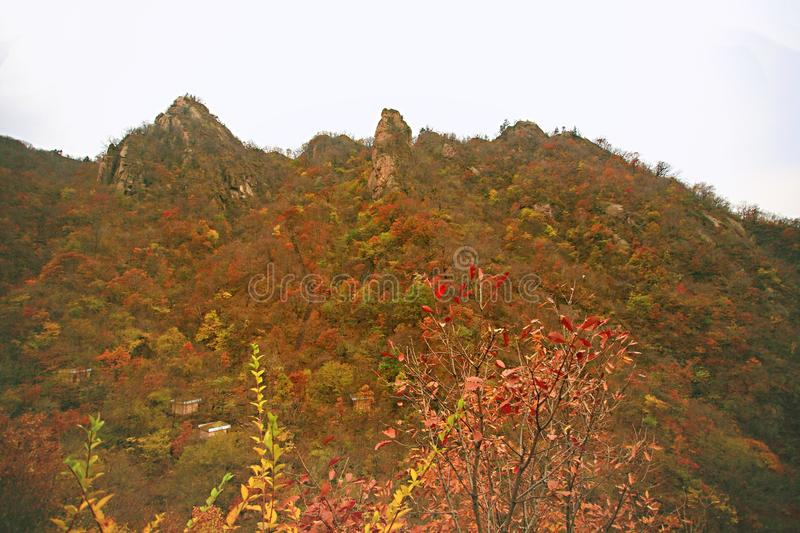 Taishan occidental, Ruyang photographie stock