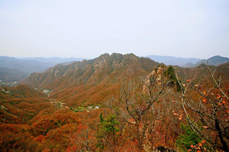 Taishan occidental, Ruyang images libres de droits