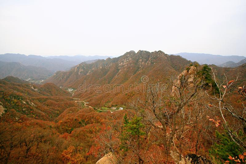 Taishan occidental, Ruyang image libre de droits