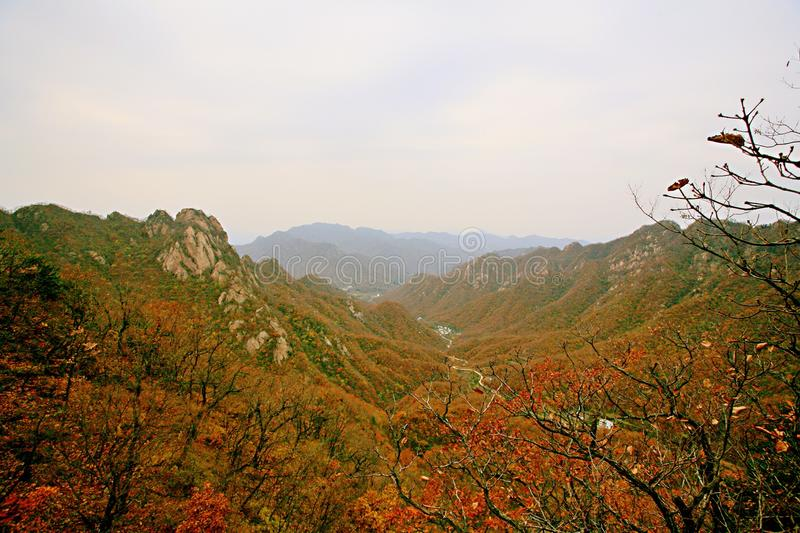 Taishan occidental, Ruyang photos libres de droits