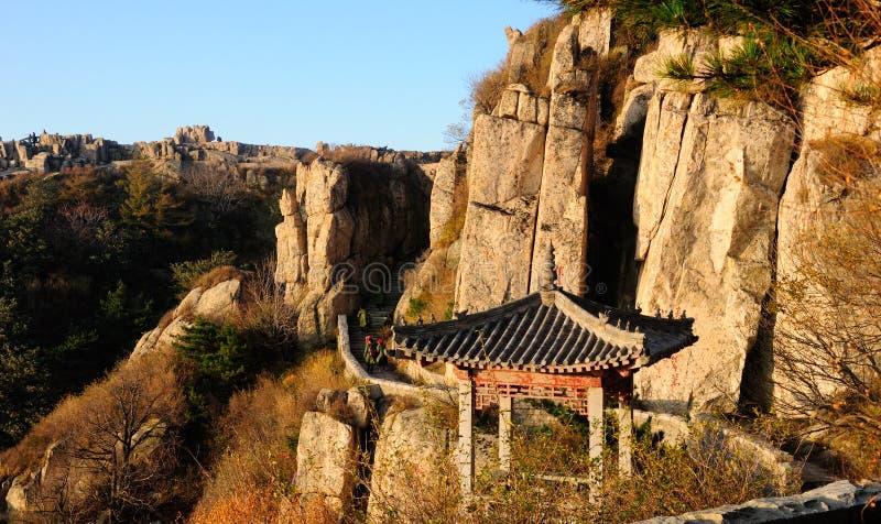 Taishan szczyt zdjęcie royalty free