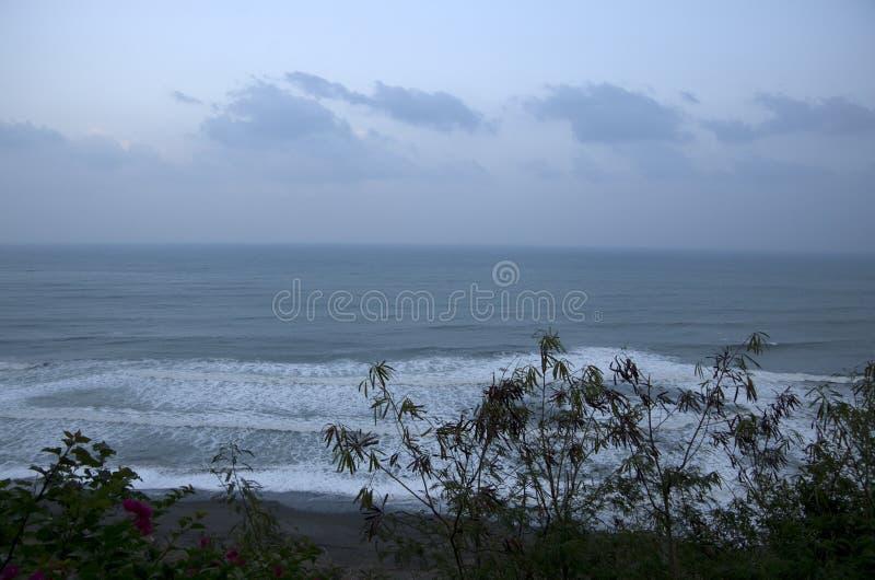 Taitung seashore parka wietrzny dzień Tajwan obraz stock