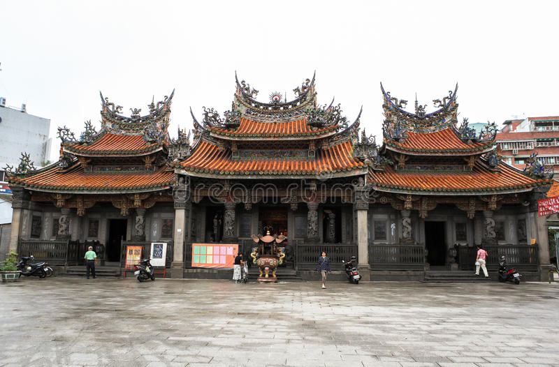 taiwan świątynia zdjęcia royalty free