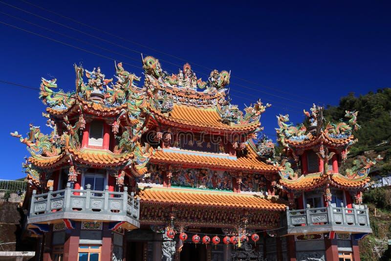 taiwan świątynia obraz royalty free