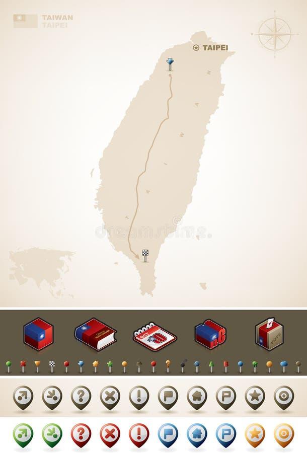 Taiwan vector illustration