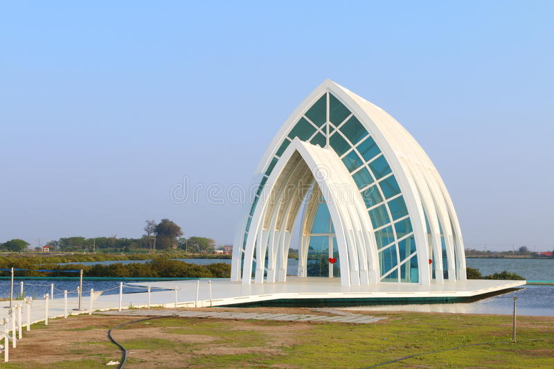 Taiwan : Beimen Crystal Church royalty free stock images