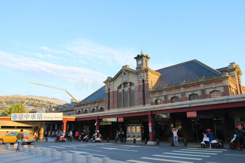 Taiwan: Estação de Taichung fotos de stock