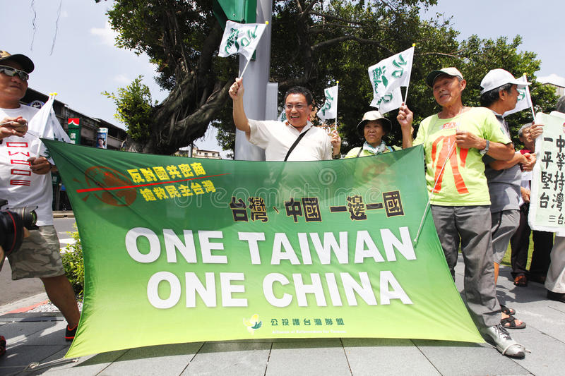 Download Taiwan independence editorial image. Image of protest - 26058955