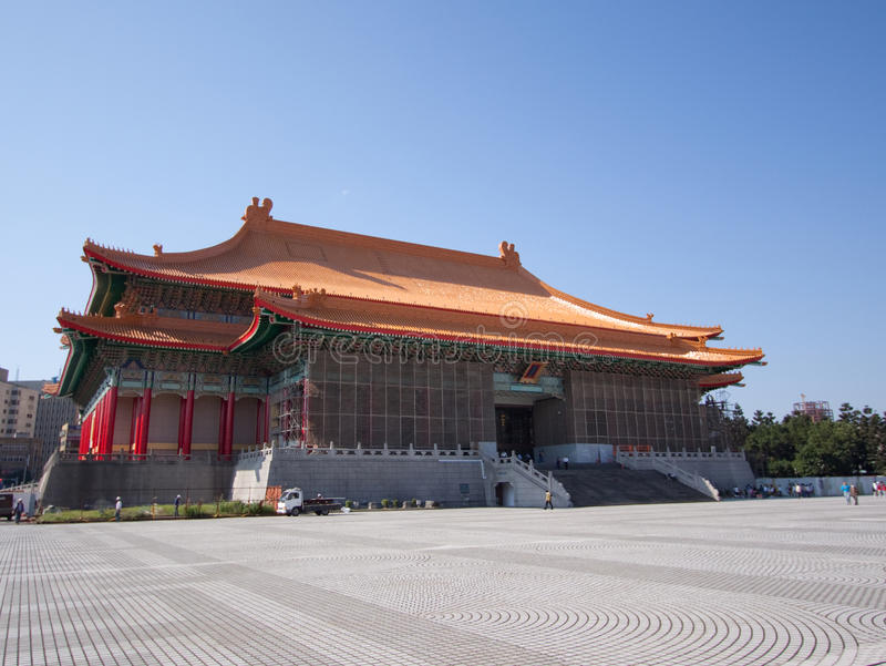 Download Taiwan memorial hall stock image. Image of monument, asia - 9981803