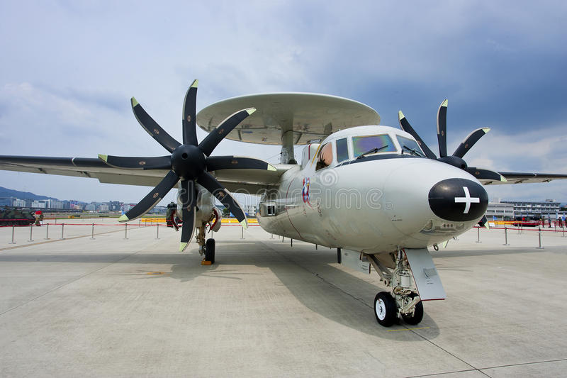Taiwan's Air Force e-2t royalty free stock photos