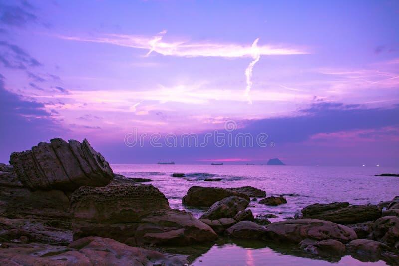 Taiwan, Scenic Area, Keelung, North Coast, Natural Geological Rocks, Sea, stock photos
